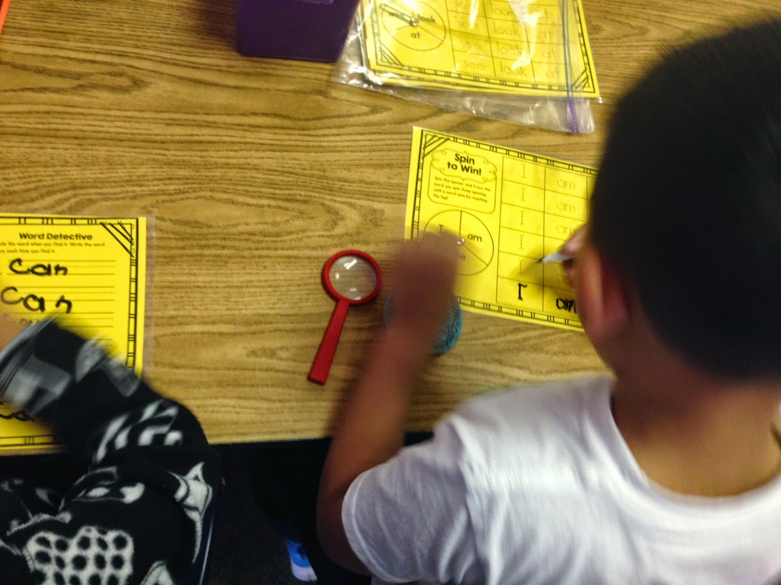 Grow Little Kinder Garden Differentiating A Sight Word Word Work Center Through Color