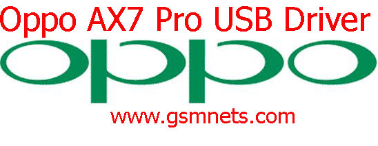 Oppo AX7 Pro USB Driver Download
