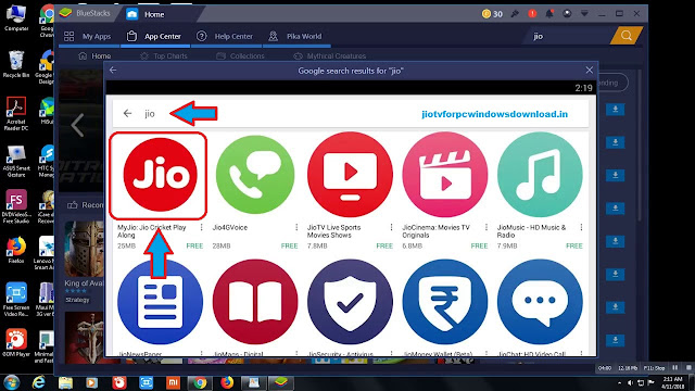jiotv for windows pc