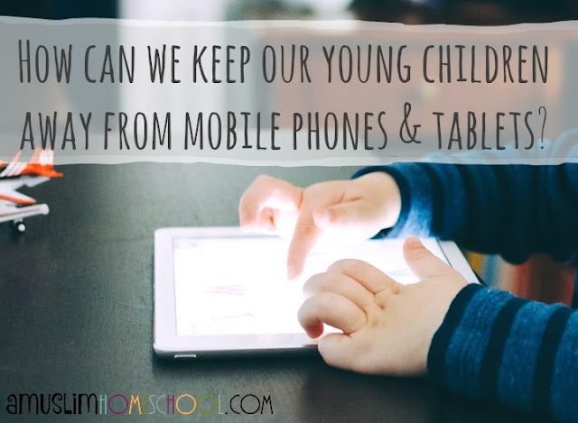 Keeping young children away from the dangers of the mobile (cell) phone