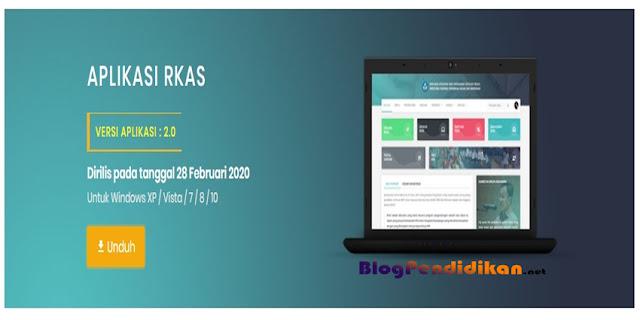 Aplikasi RKAS Resmi Untuk Dana BOS Tahun 2020