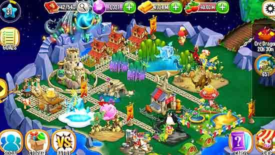 Dragon City MOD APK Unlimited