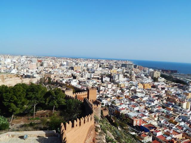 Almeria z góry