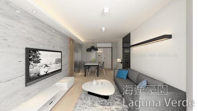 紅磡 海逸豪園 室內設計單位 (Laguna Verde)