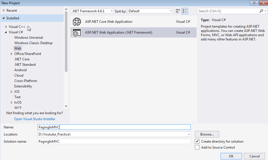 Implement paging in Asp.net MVC using PagedList library ~ Mani chandra