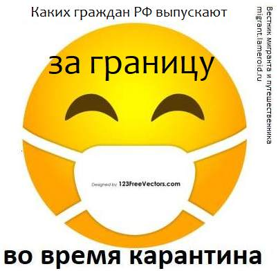 Каких граждан России выпускают за границу РФ