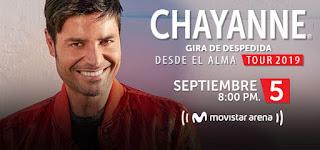 Concierto de CHAYANNE en Colombia