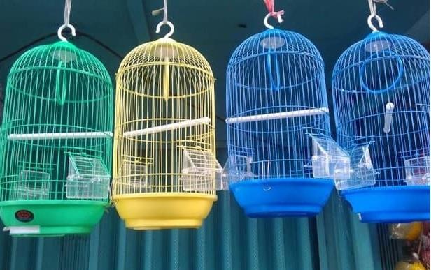 sangkar burung Besi Dayang