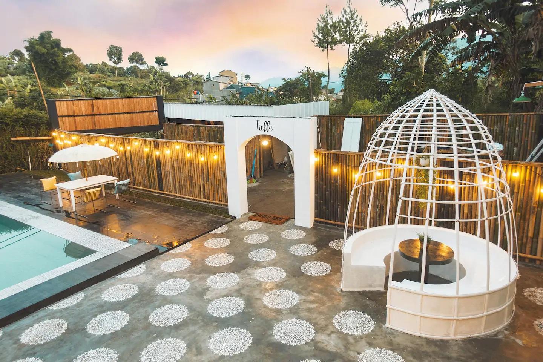 sewa villa unik di puncak bogor