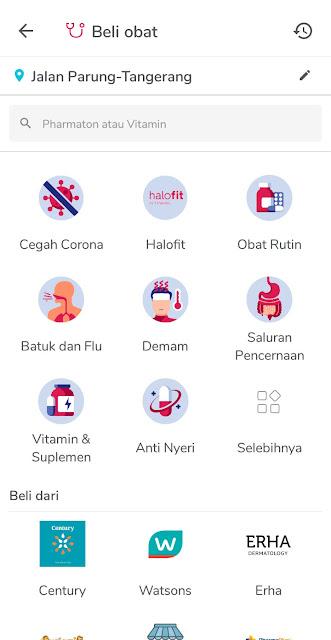 Beli Obat Online di Aplikasi Halodoc