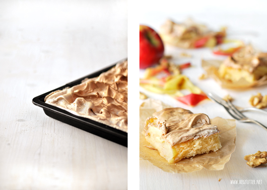 Apfelkuchen aus dem Ofen