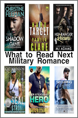 "Enjoy some ""mommy time"" with one of these hot military romances.  These 12 military romances are a great way to enjoy your free time. #whattoreadnext #tbrlist #militaryromance"