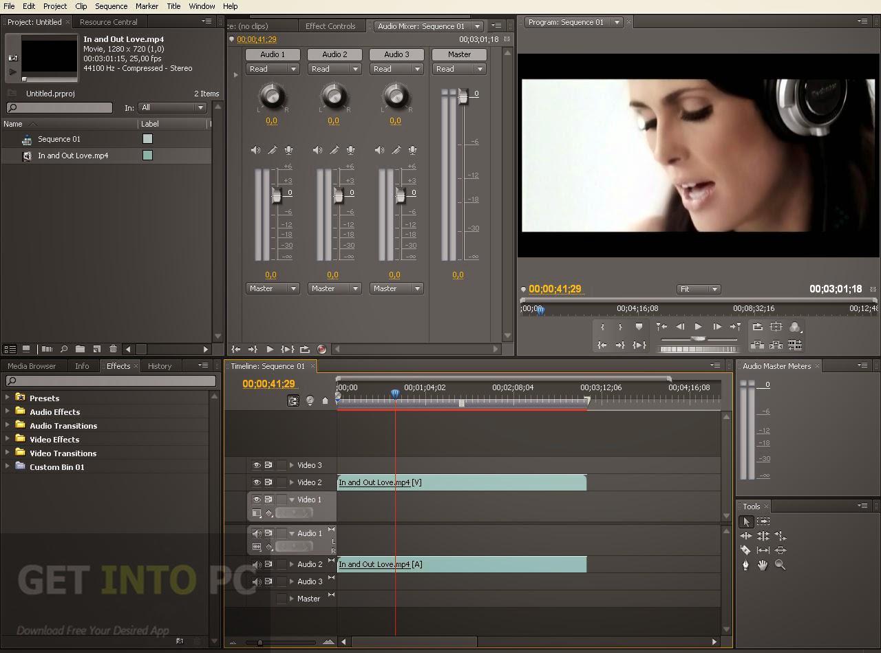Adobe Premiere Pro CS5.5 x86 portable