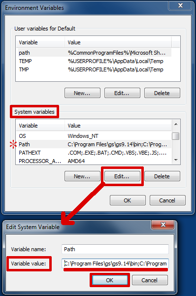 Setting the Path Environment Variable