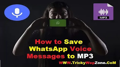 How to Convert and Save WhatsApp Voice Messages to Mp3