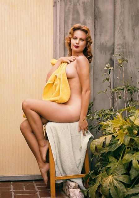 1960. Teddi Smith - Playboy's Playmate of the Month, July 1960 - photo by Edmund Leja