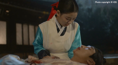 Love in the Moonlight, Moonlight Drawn By Clouds, Kim You Jung, Hong Ra On, Hong Sam Nom, Kim Yun Seong, Jin Young, best scene, Ep18