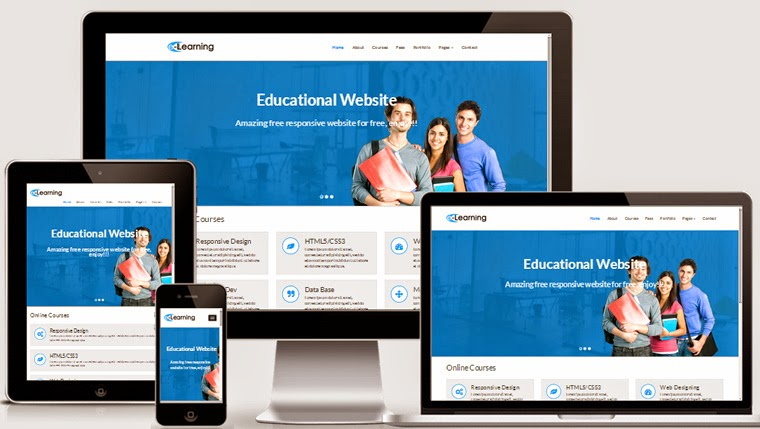 free education bootstrap theme
