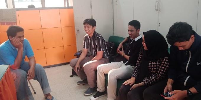 Kunjungan team advance research PT Telekomunikasi Indonesia