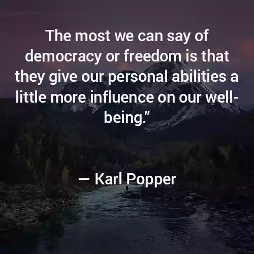Karl Popper Quotes