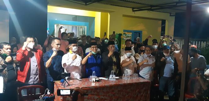 tim pemenangan al haris-sani teriakkan al haris gubernur jambi