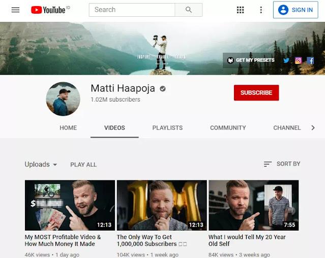 Channel YouTube Untuk Belajar Fotografi dan Videografi-8