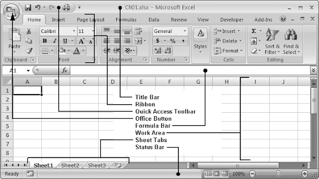 Microsoft Excel Basics - Complete Chapter from Start to End