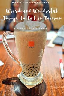 Things to eat in Taiwan: Pearl Milk Tea