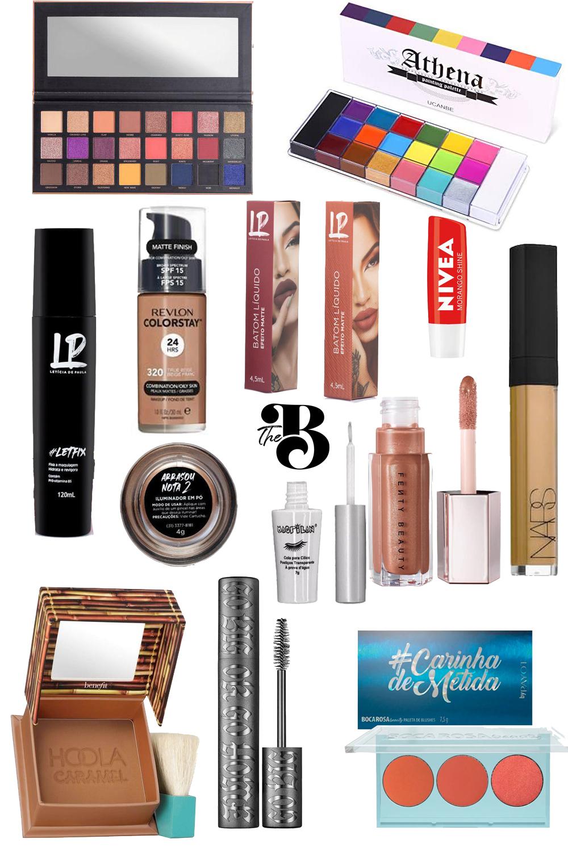 15 itens de maquiagem que estou desejando - Bluelline