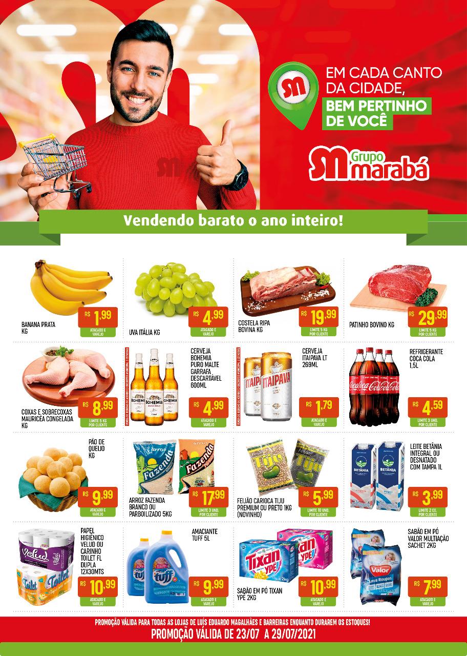 Promoções da semana: Grupo Marabá, vendendo barato o ano inteiro!