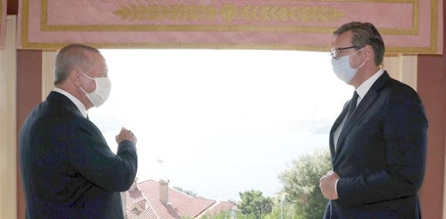 Bertemu Erdogan, Presiden Serbia Ungkapkan Turki Jadi Salah Satu Dari Delapan Negara Paling Signifikan Di Dunia