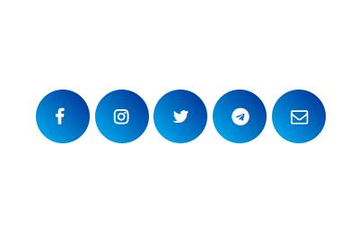 Hướng dẫn tạo bộ Social Media Share Buttons cho blogspot