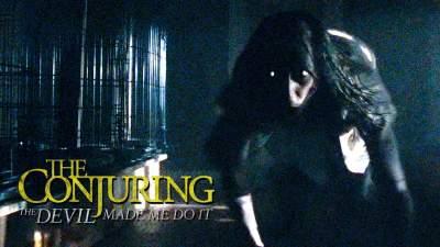 The Conjuring 3 (2021) Hindi Dubbed Eng Telugu Tamil Movie 480p HD