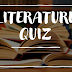 How Many of These Literature Questions Can You Get Right?