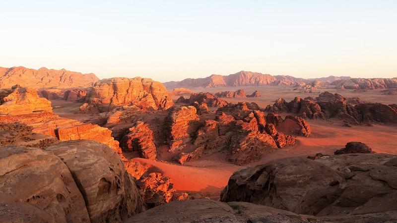 Wadi Rum (Valley of the Moon), Jordan - A Beautiful Desert
