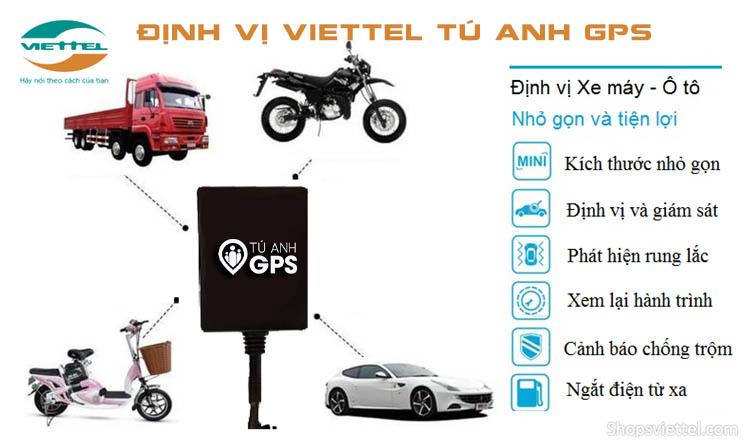 Lắp thiết bị định vị xe máy Viettel giá rẻ nhất tại Bình Dương - TuAnhGPS
