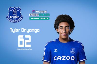 PES 2021 Faces Tyler Onyango by CongNgo