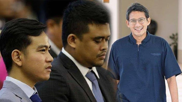 Sandiaga Uno Masuk Tim Pemenangan Mantu Jokowi, Bobby Nasution
