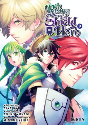 Review del manga The Rising of the Shield Hero Vol.9 y 10 de Aiya Kyu - Editorial Ivrea