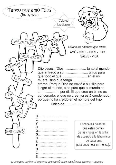 Para Colorear Citas Bíblicas