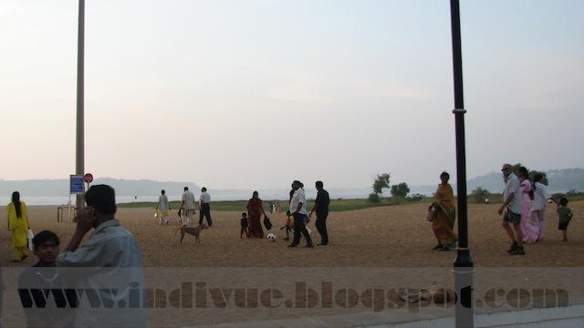 Miramar Beach, Goa, Intia