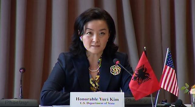 US Ambassador to Tirana Yuri Kim thinks Albanian Politicians may have dealt to kill Justice Reform
