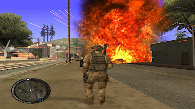 GTA San Andreas Sinper Rifle Ghost Warrior Mod Pack For Pc