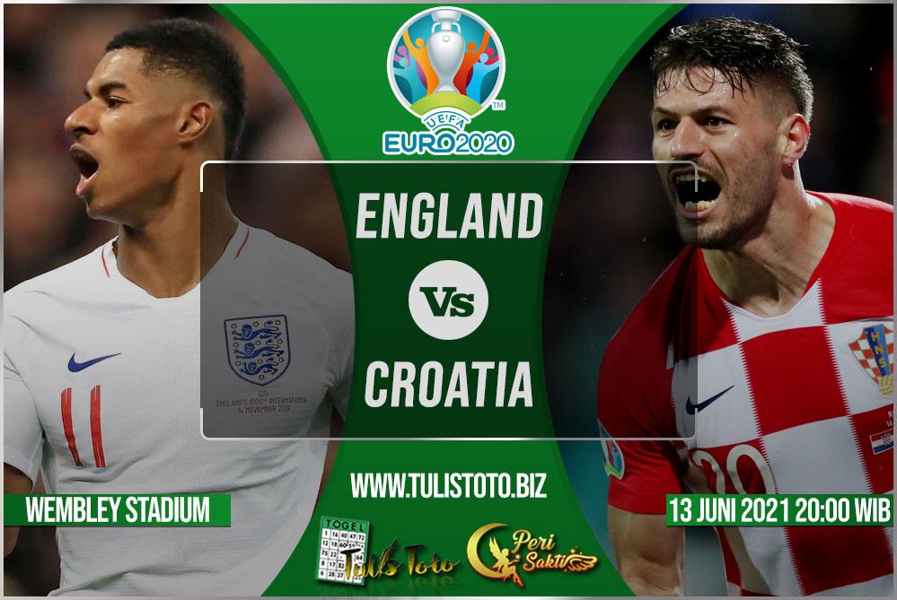 Prediksi England vs Croatia 13 Juni 2021