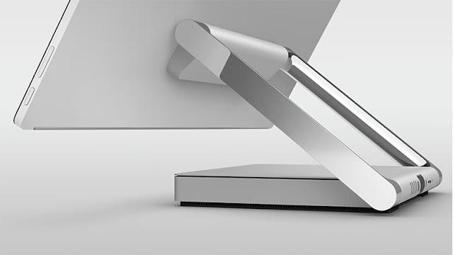 конструкция подставки у Microsoft Surface Studio