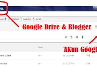 Cara Menyematkan File Dari Drive Ke Blogger