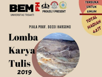 Lomba Karya Tulis Ilmiah Nasional 2019 di Universitas Trisakti
