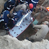 Após desabamento de barreiro, garoto de 12 anos morre soterrado na tarde desta terça-feira