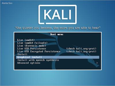 Cara Install Kali Linux 2019.2 Terbaru ,Detail Dan Lengkap