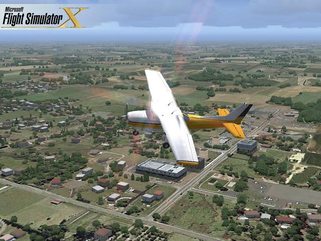 Microsoft Flight Simulator X PC Full Version Screenshot 2